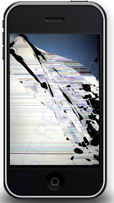 iPhone 3Gs LCD Display Reparatur Köln